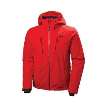 Men's Helly Hansen Alpha 3.0 Insulated Ski Jacket, Size: XXL (37), Flag Red